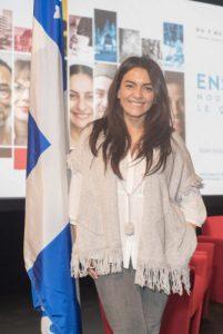 Alexandra Díaz, es una reconocida periodista y animadora de la televisión local, de origen chileno. Foto: Josué González / InnovaMag.