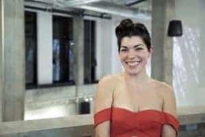Marie-Jeanne Rivard, propietaria del flamante Boxotel. Foto: Boxotel.